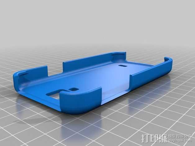三星Samsung Galaxy S4手机外壳 3D打印模型渲染图