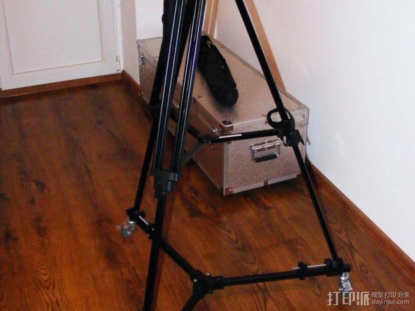 摄像机三脚架  3D打印模型渲染图