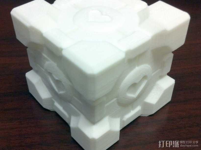 方形盒 传送塔 3D打印模型渲染图
