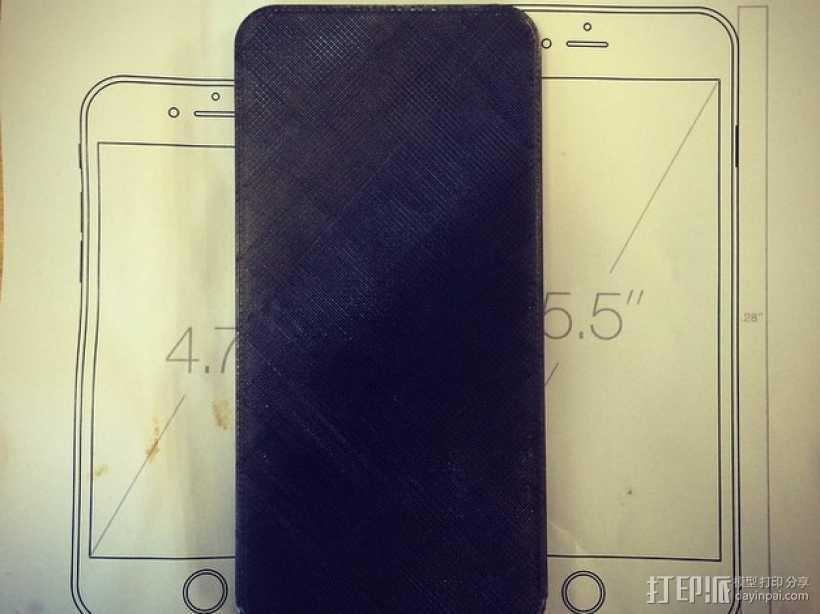 iPhone 6 / 6 plus手机模型 3D打印模型渲染图