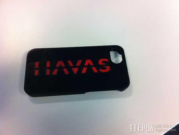Iphone 5S 手机外壳 3D打印模型渲染图