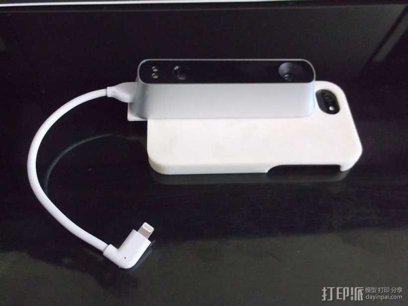 iPhone5手机外壳 3D打印模型渲染图