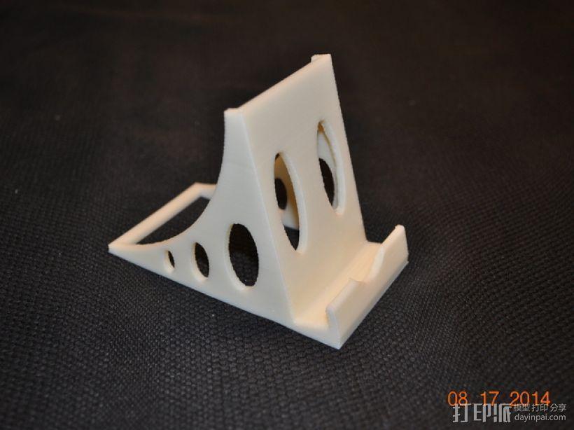 稳固的iPhone手机座 3D打印模型渲染图