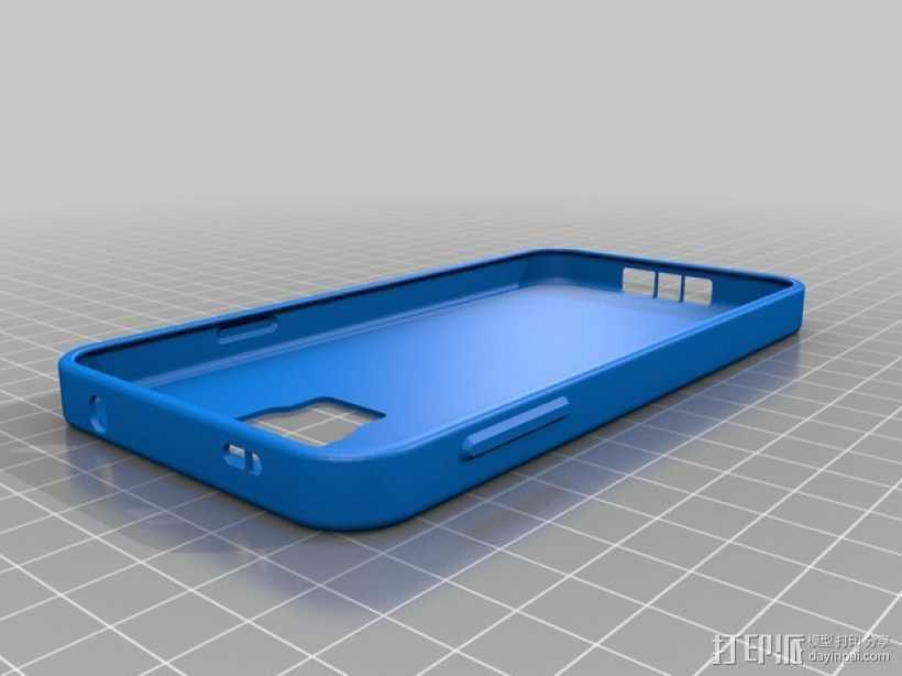 三星Galaxy s5手机外壳 3D打印模型渲染图