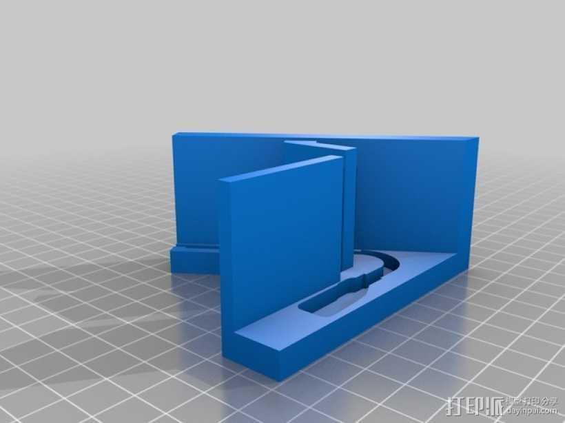 Pebble手表展示架 3D打印模型渲染图