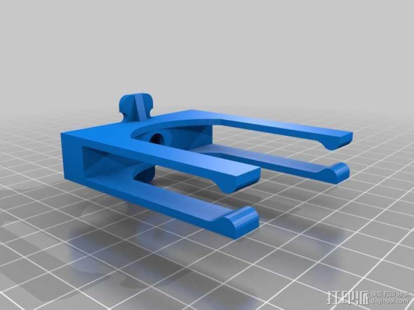 iPhone苹果手机三角底座 3D打印模型渲染图