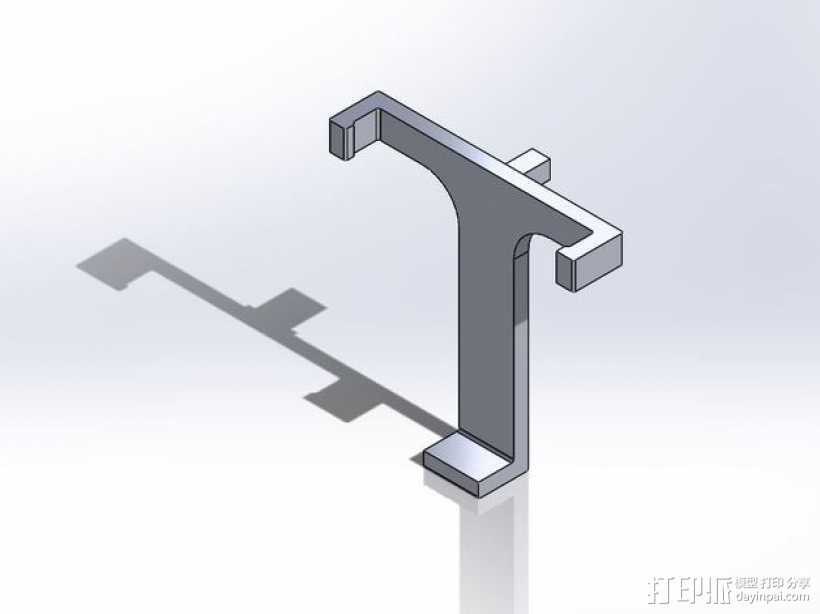 iPhone 5手机座 3D打印模型渲染图