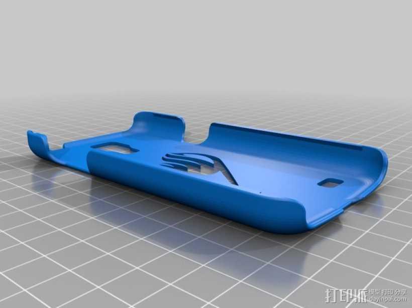 妖精的尾巴手机壳 3D打印模型渲染图
