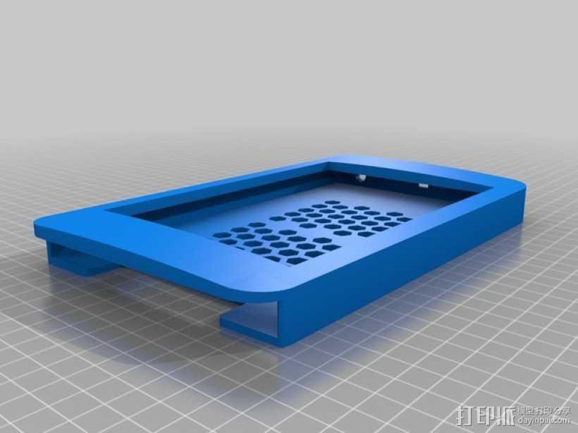 Nexus 7平板电脑保护框 3D打印模型渲染图