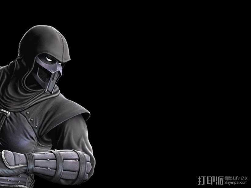 格斗之王面具 3D打印模型渲染图