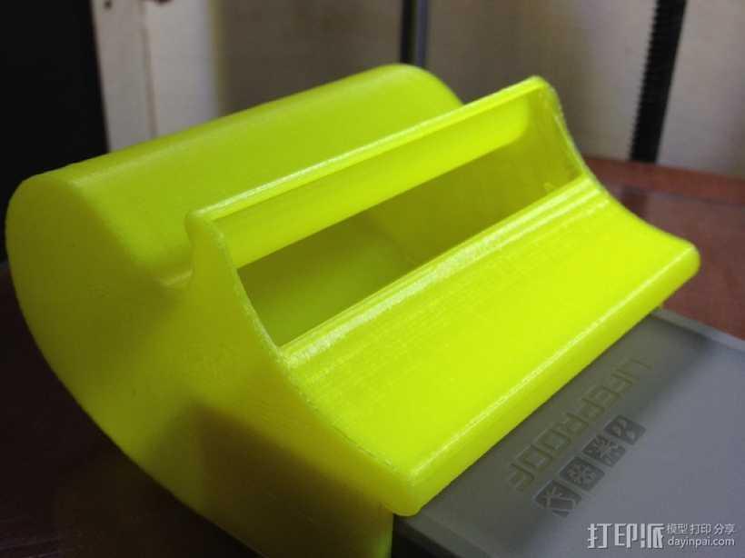 iPhone 5/5s/5c手机座 3D打印模型渲染图