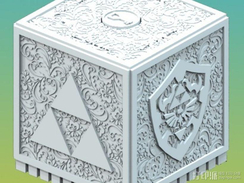 欧亚塞尔达外壳 3D打印模型渲染图