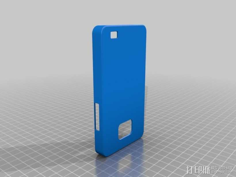三星 Galaxy S2手机外壳 3D打印模型渲染图