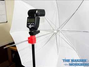 摄影反光伞固定器