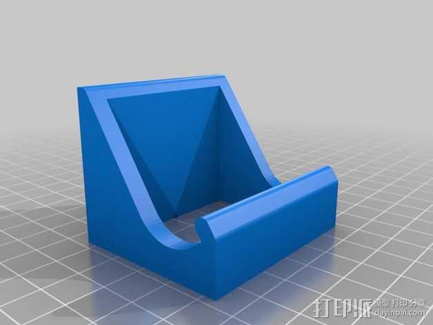 手机架 手机座 3D打印模型渲染图