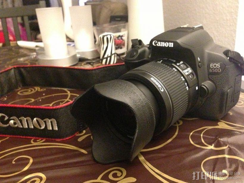 佳能相机镜头遮光罩 3D打印模型渲染图