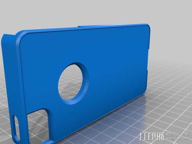 iPhone5手机套 3D打印模型渲染图