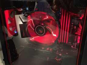 电脑CPU风扇罩