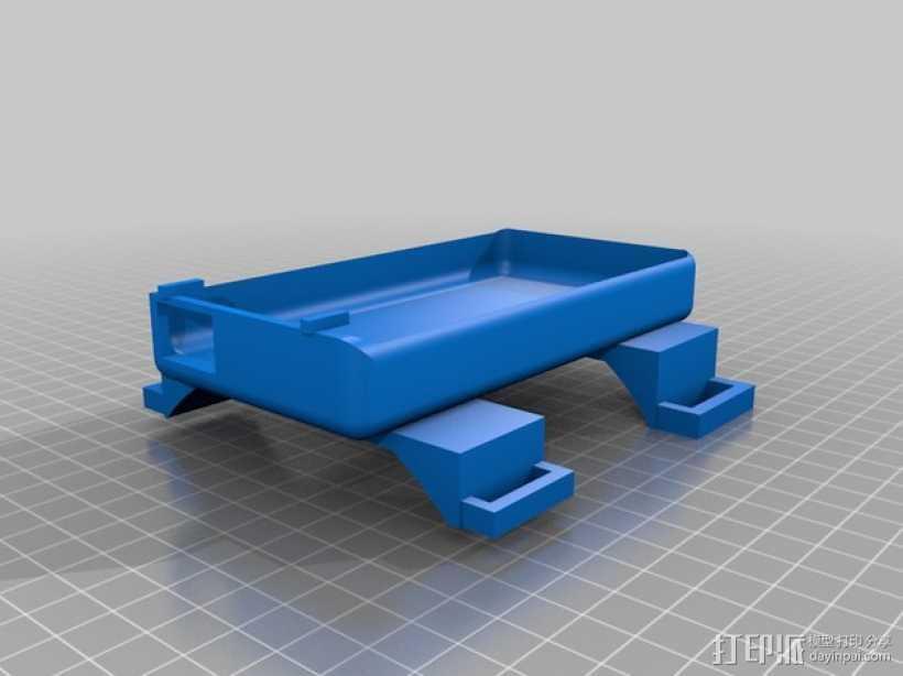 手机外壳 手机座 3D打印模型渲染图