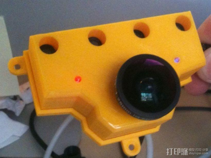 PS3游戏机摄像头 3D打印模型渲染图