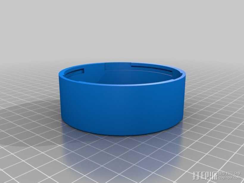 佳能相机镜头盖 3D打印模型渲染图