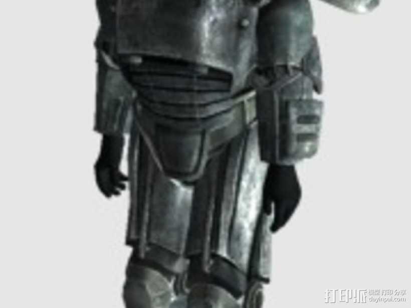 Power Armour动力装甲模型 3D打印模型渲染图