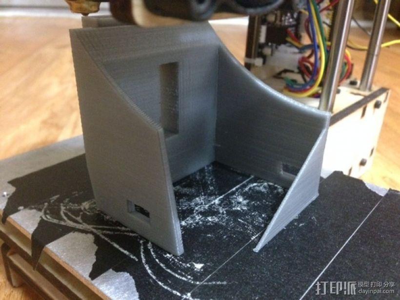 虚拟现实眼镜 谷歌纸盒  3D打印模型渲染图