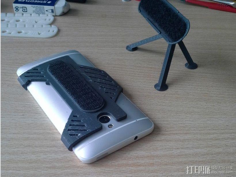HTC One手机迷你支撑架 3D打印模型渲染图