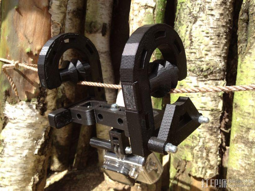 悬挂式相机架 3D打印模型渲染图