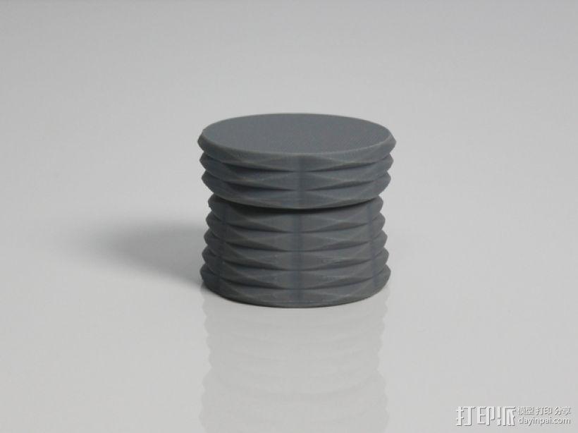 容器 盒子 镜片盒 3D打印模型渲染图