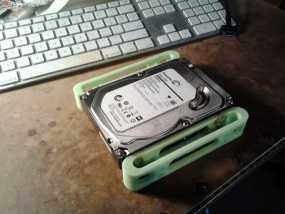 硬盘固定架