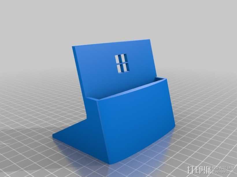 Nokia 1520 手机支撑架 3D打印模型渲染图