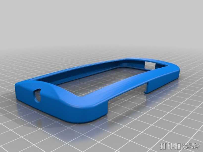 摩托罗拉Moto X手机边框保护壳 3D打印模型渲染图