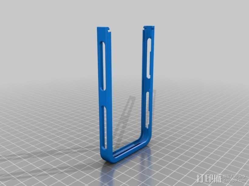 iPhone 5/5S手机边框保护壳 3D打印模型渲染图
