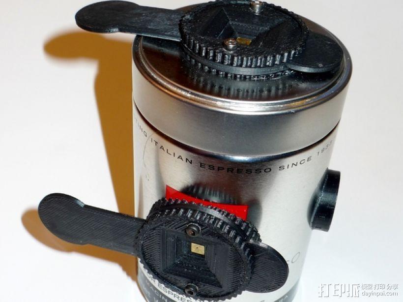 咖啡罐摄像机 3D打印模型渲染图