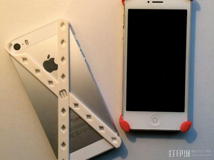 IPhone 5 / 5S手机外壳 3D打印模型渲染图