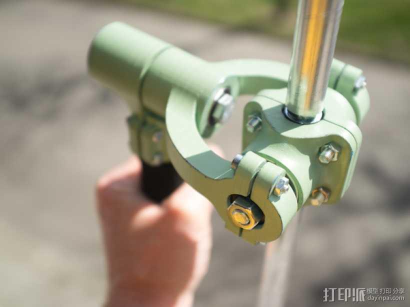 相机稳定器 3D打印模型渲染图