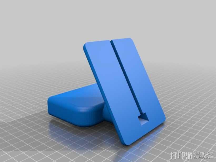 盖世4桌面站架 3D打印模型渲染图