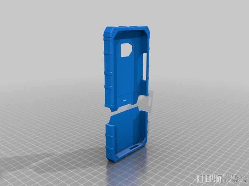HTC One手机外框 手机套 3D打印模型渲染图