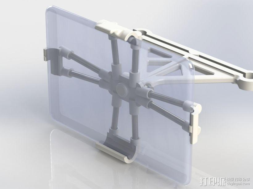 宏基Acer Iconia平板电脑支撑架 3D打印模型渲染图