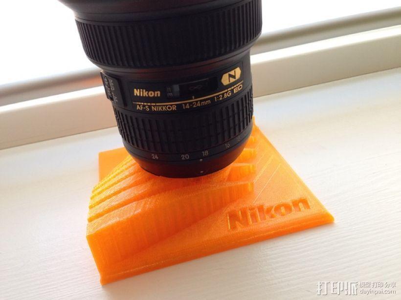 Nikon 相机镜头架 3D打印模型渲染图