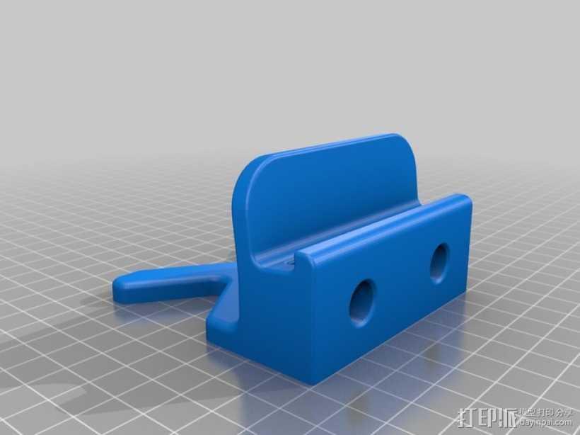 iPhone 5 / iPad Mini 支撑架 3D打印模型渲染图
