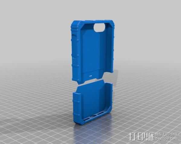福音战士iPhone 5 手机保护套 3D打印模型渲染图