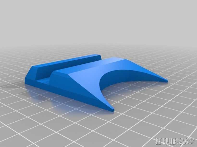 谷歌NEXUS7平板电脑支架 3D打印模型渲染图