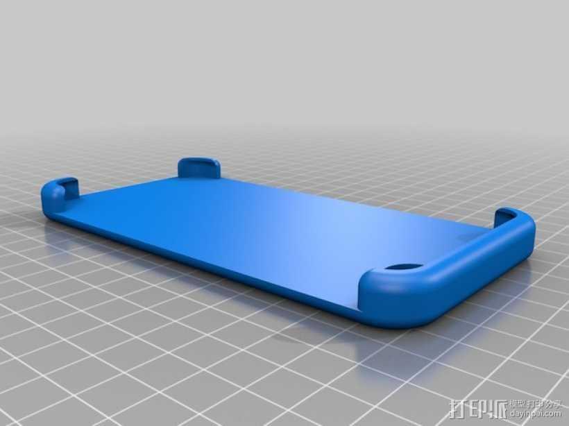 iPhone 6手机保护壳 3D打印模型渲染图