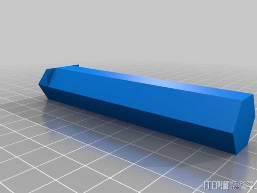 XBOX 360游戏机手柄桌面支架 3D打印模型渲染图
