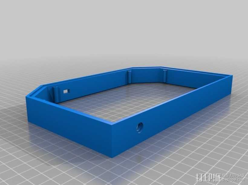 任天堂游戏机外壳 3D打印模型渲染图