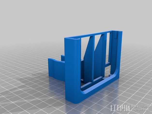 三星Note 3手机手机座 3D打印模型渲染图