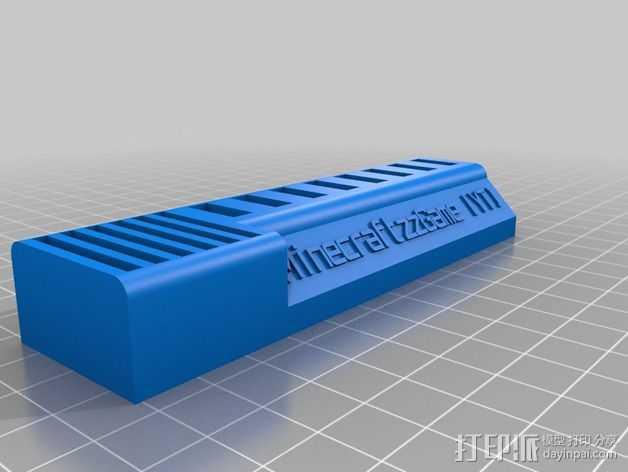 USB/SD卡收纳盒 3D打印模型渲染图