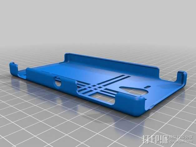 索尼Experia手机外壳 3D打印模型渲染图